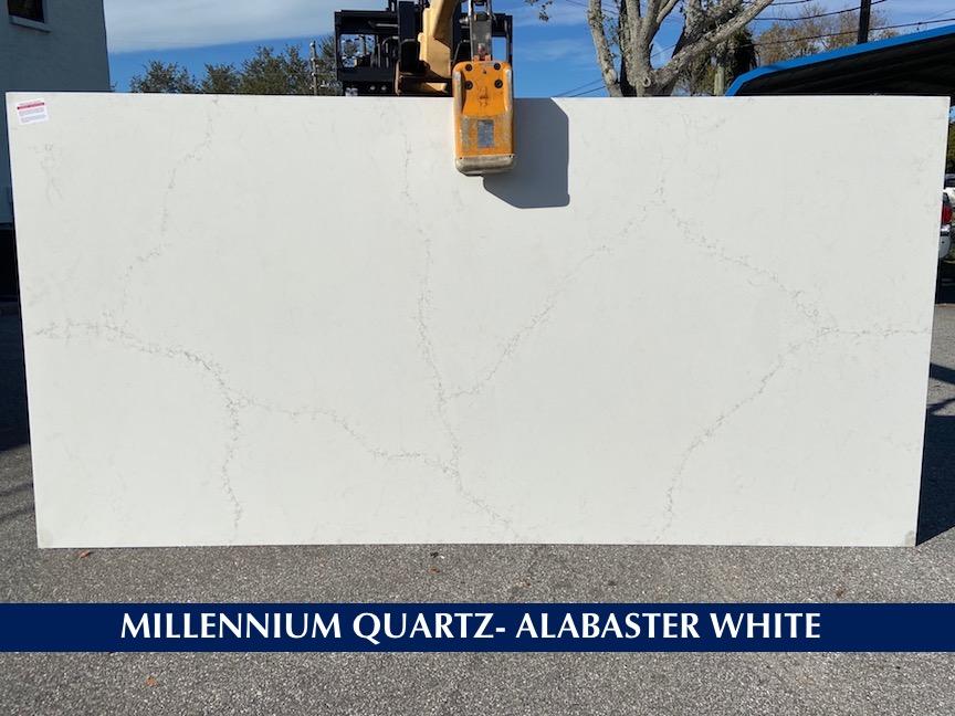 Quartz Alabaster White 3 cm