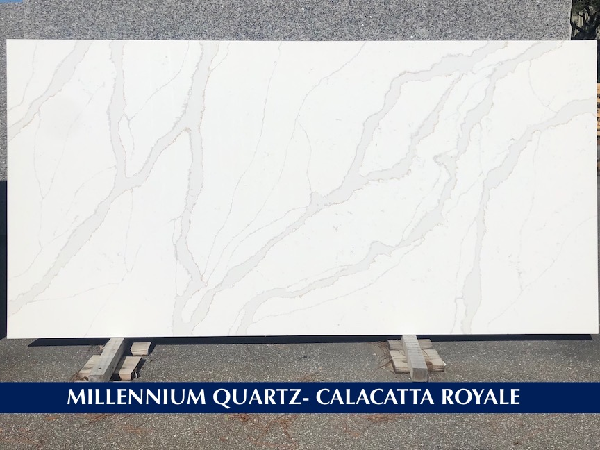 Quartz Calacatta Royale 3 cm