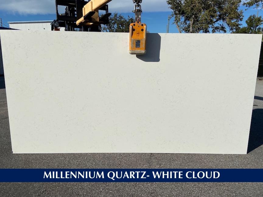 Quartz White Cloud 3 cm