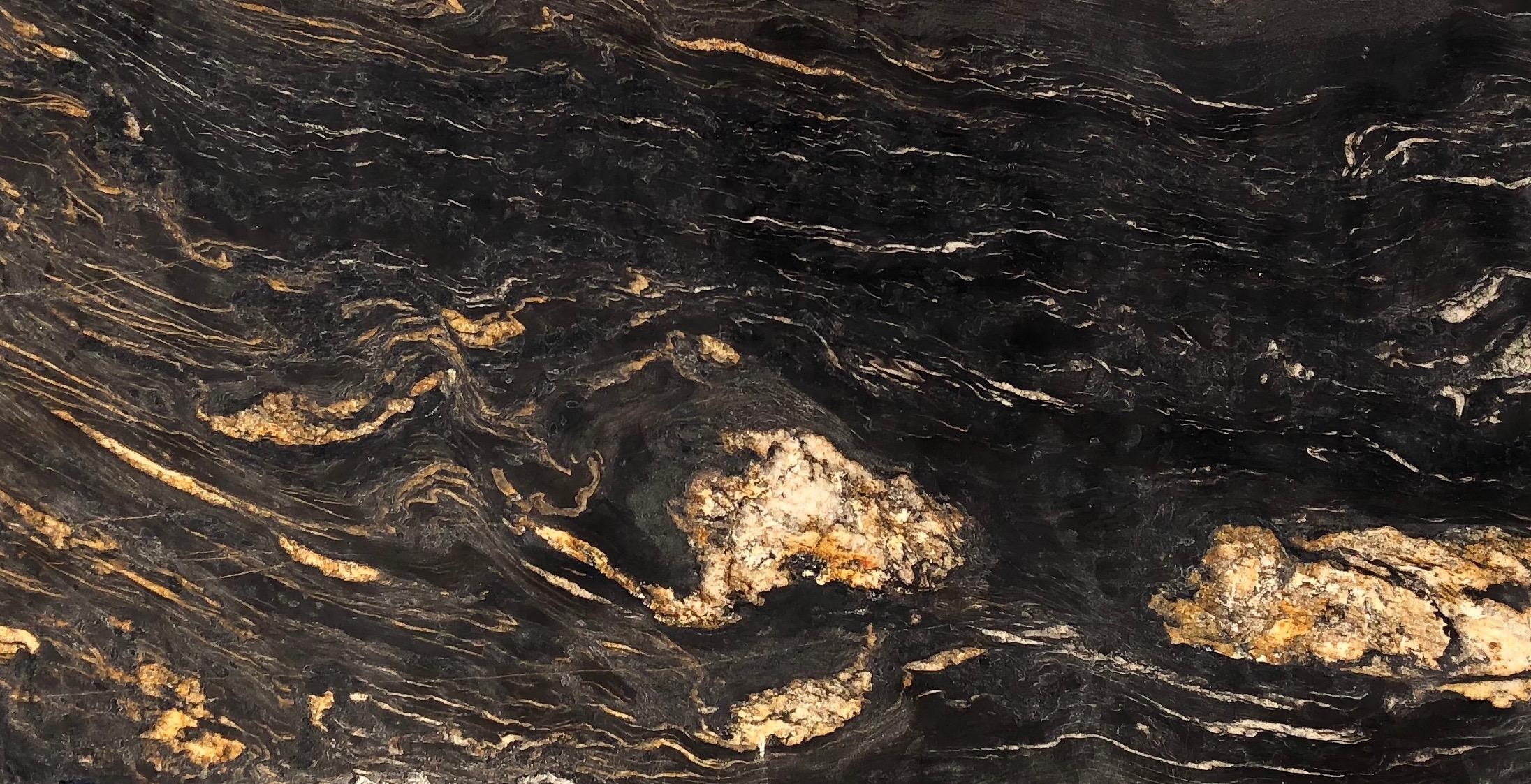 Titanium Leathered 3 cm