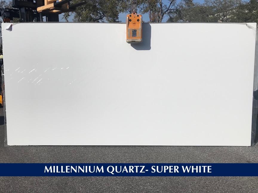 Quartz Super White 3 cm